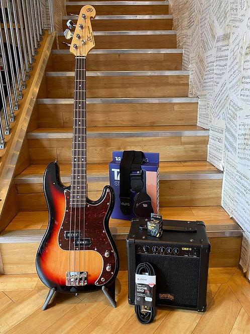 SX Precision Bass Guitar Pack 1 SB