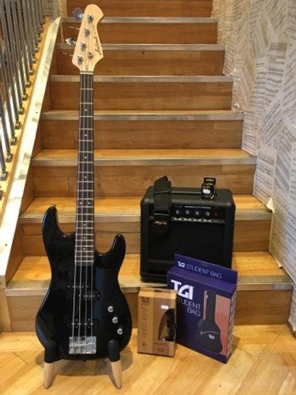 Bass Guitar Pack 1 - Aria PJ BK