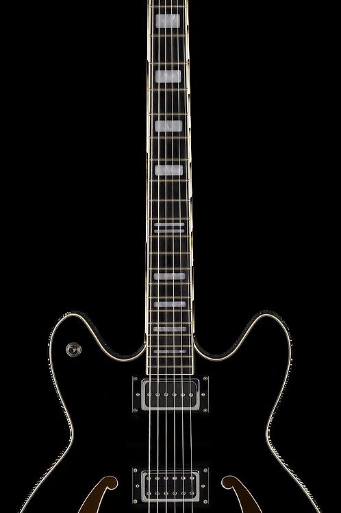 Hagstrom Viking Deluxe Baritone - Black