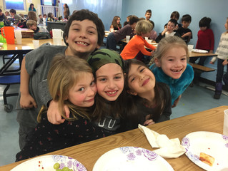 Second graders like pizza!