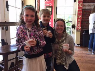 Ice Cream Date with Mrs. Ricci!