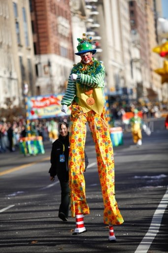 Stilt Walking Clown (Macy's Parade)