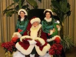 Macy's Parade Santa and Santa's Helpers