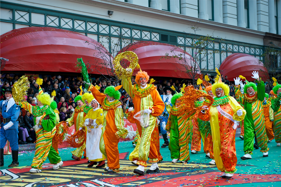 Macy's Parade Clowns