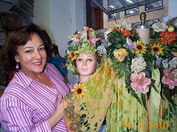 Macy's Mother Nature with Headpiece