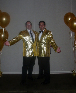Gold Sequin Costumes (Male)