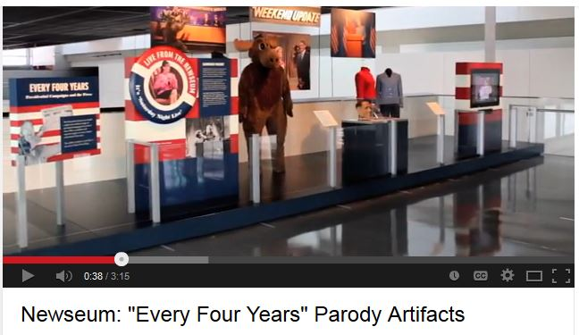 Newseum Youtube Video (2008) Photo Snapshot  (38sec)