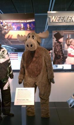 Moose (Newseum/SNL)