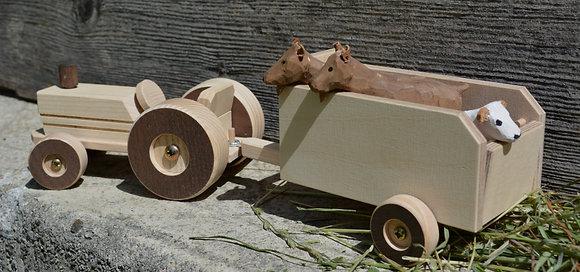 Traktor & Vehahänger