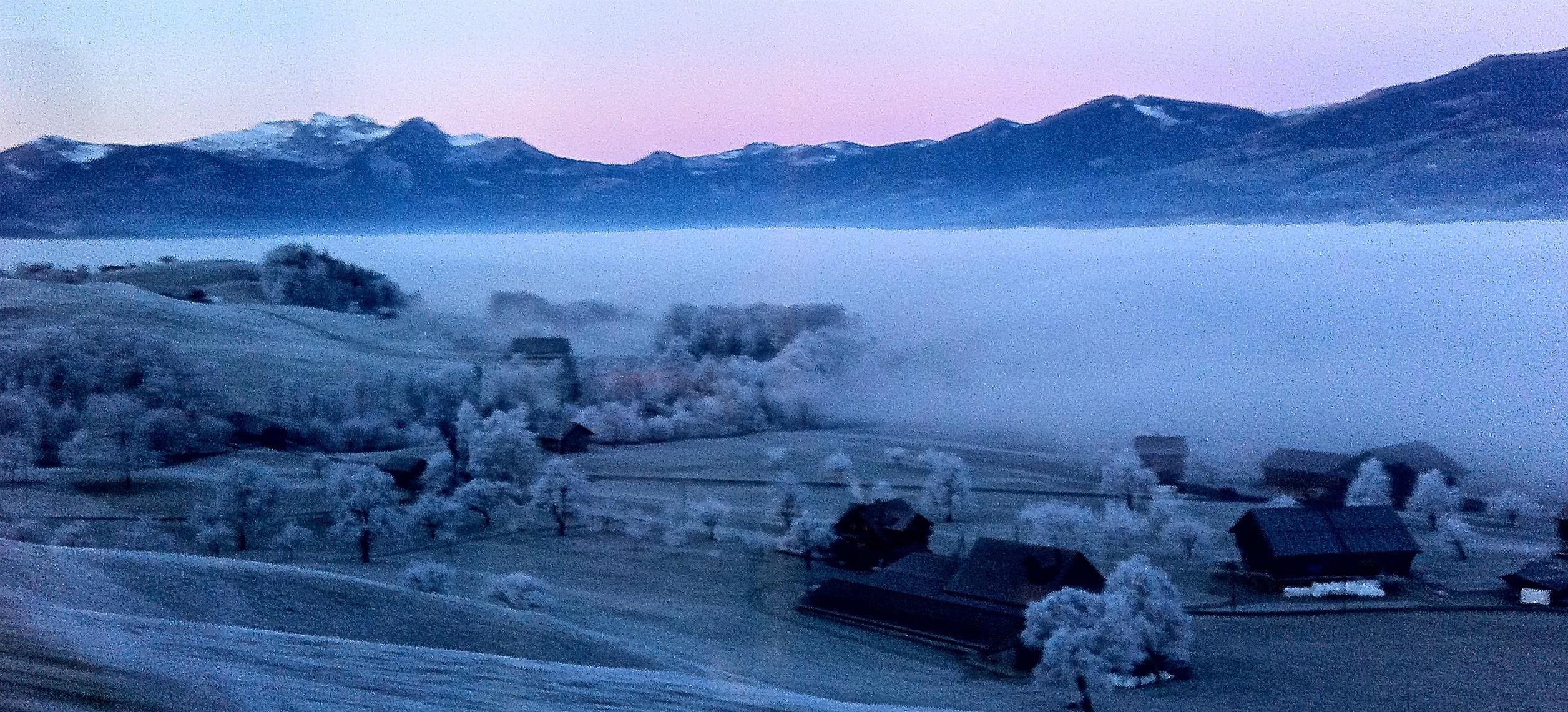 Giächt und Nebelmeer