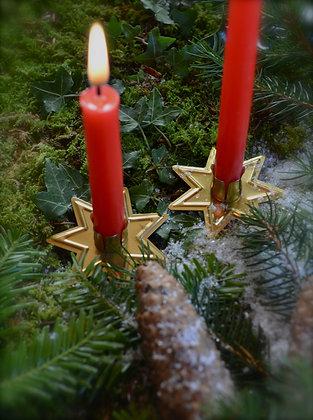 Stern Weihnachtskerzen Halter