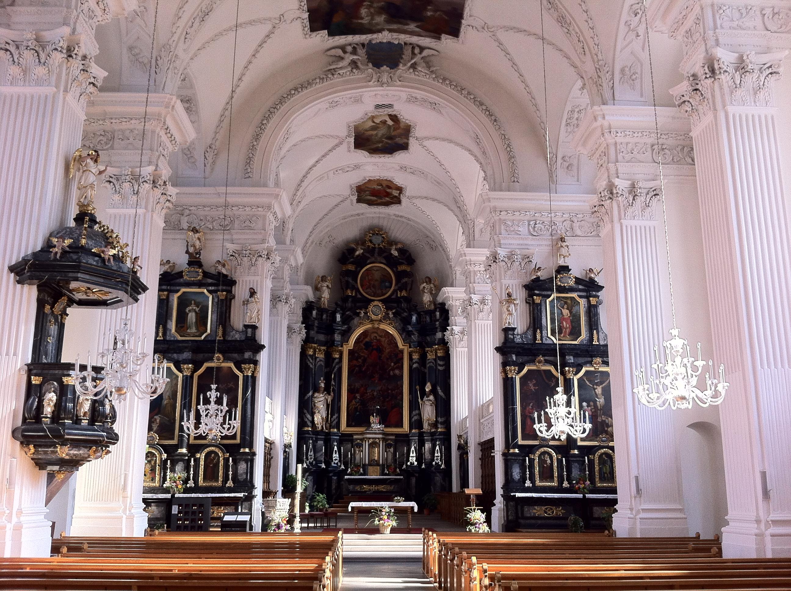 Kirche Arth