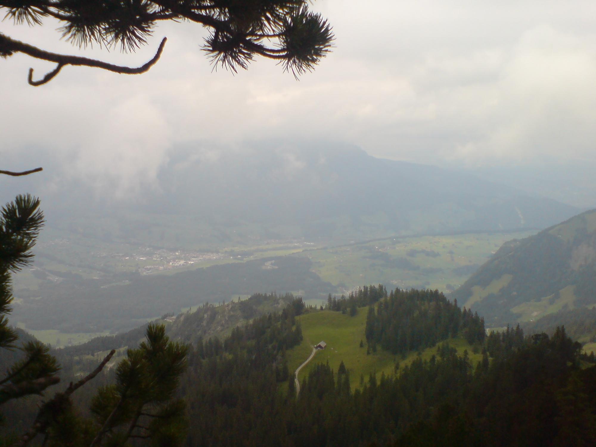 Blick vom Arvigrat auf Alpnach