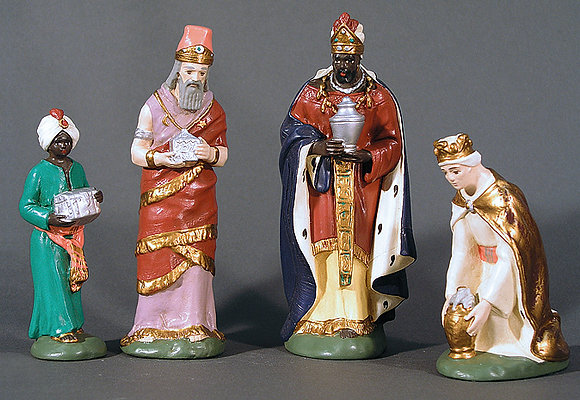 Krippenset Heilige 3-Könige