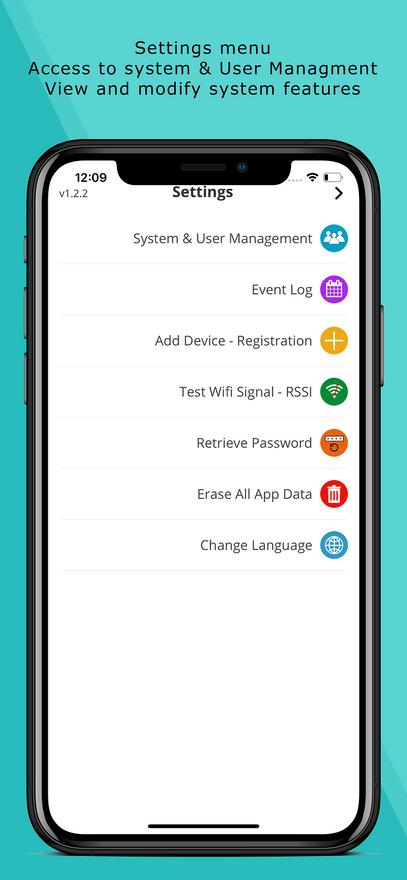 Alarm System App