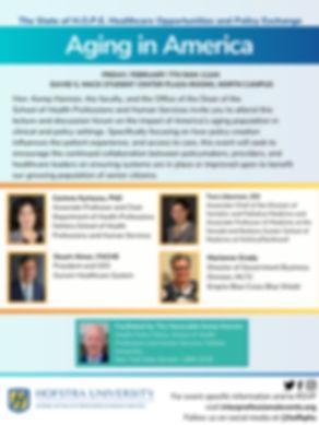 Aging in America program - February 7, 2