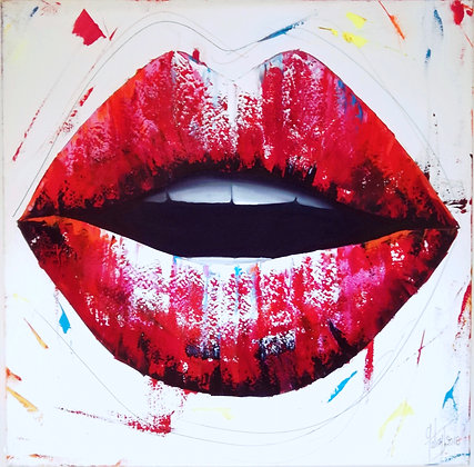 bloody lips julie galiay artopic gallery