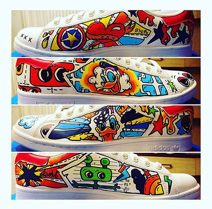 Custom your sneakers by ASO-P