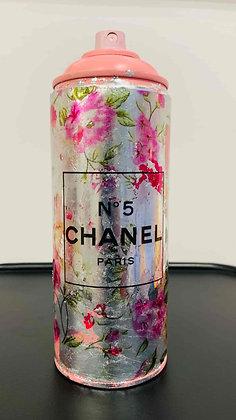Spray Chanel Silver & Flowers