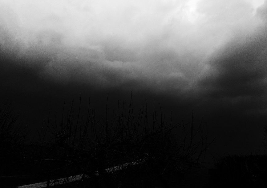 Donkere storm komt!