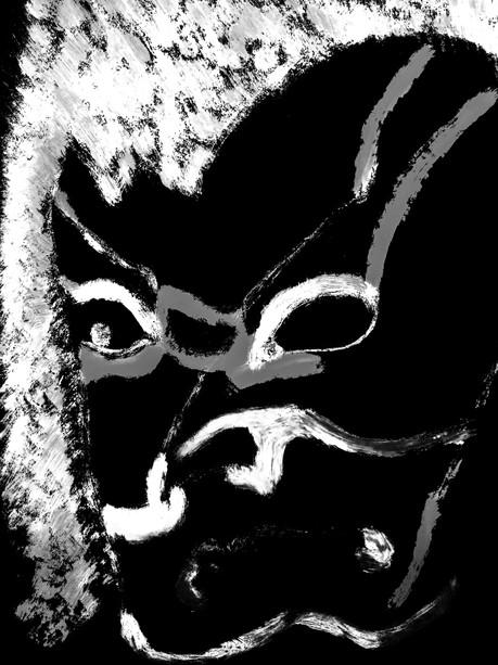 Kabuki demon