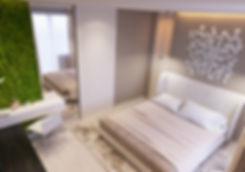 Дизайн интерьера спальни  в Екатеринбурге