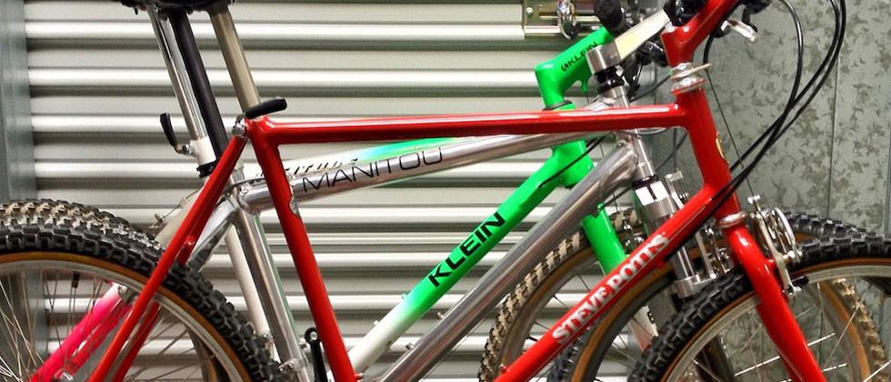 Vintage Mountain Bikes Collection
