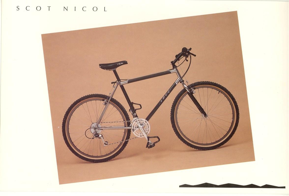 Scot Nicol Ibis Carbon Titanium