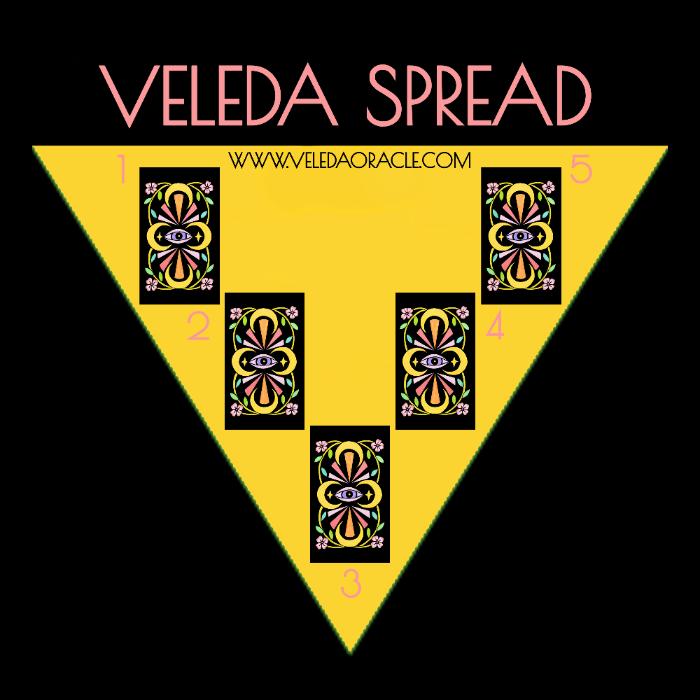 ORACLE CARD SPREADS | Veleda Oracle Deck