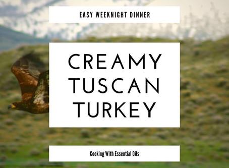 Creamy Tuscan Turkey