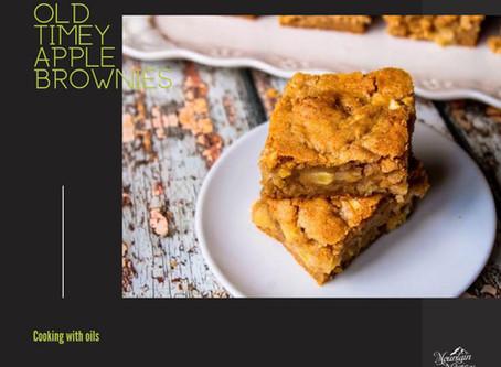 Old Time Apple Brownies