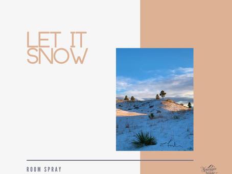 Let It Snow - Room Spray