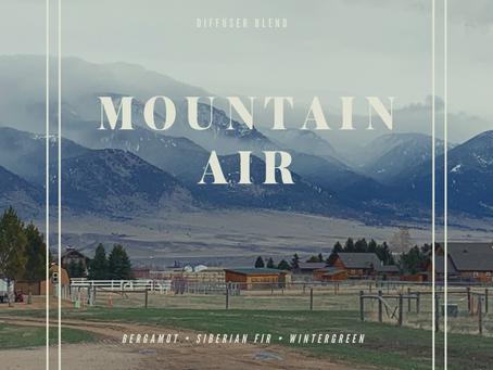 Mountain Air diffuser blend