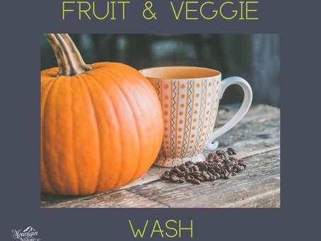 Fruit & Veggie Wash