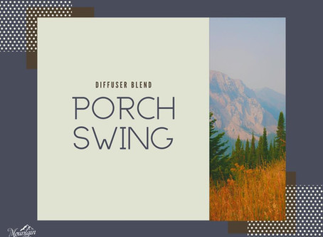 Porch Swing - Diffuser Blend