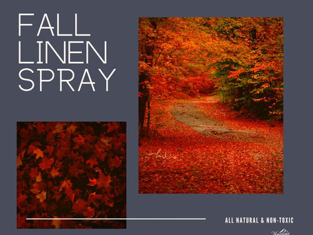 Fall Linen Spray