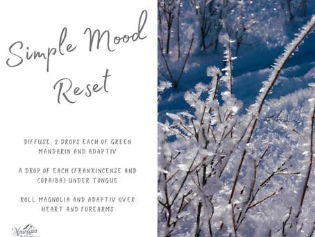 Simple Mood Reset
