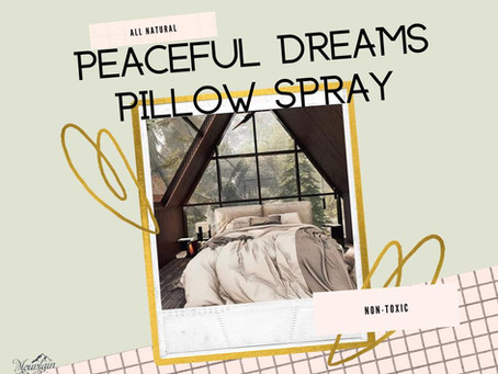 Peaceful Dreams Pillow Spray