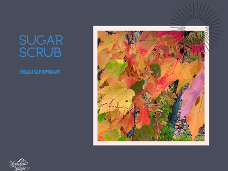 Circulation Improving Sugar Scrub