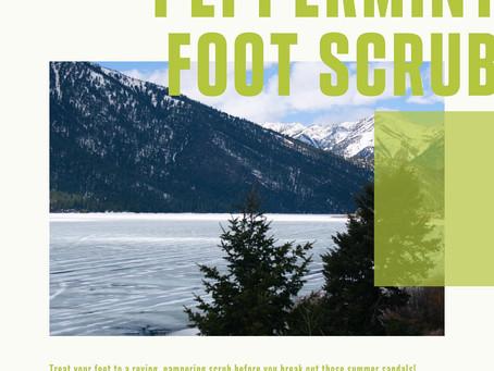 Peppermint Foot Scrub