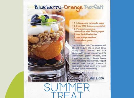 Blueberry-Orange Parfait