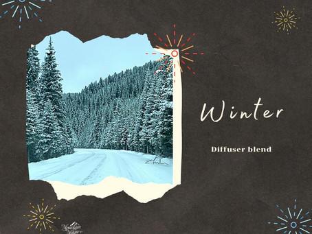 Winter - diffuser blend