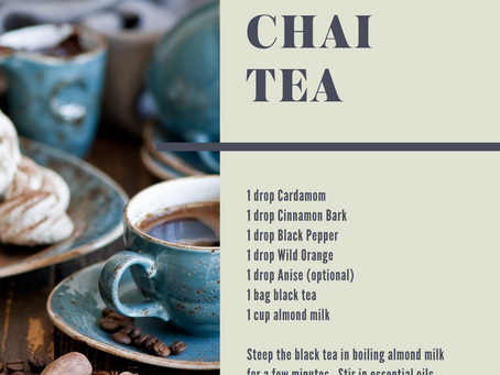 Chai Tea - the ultimate comfort drink!