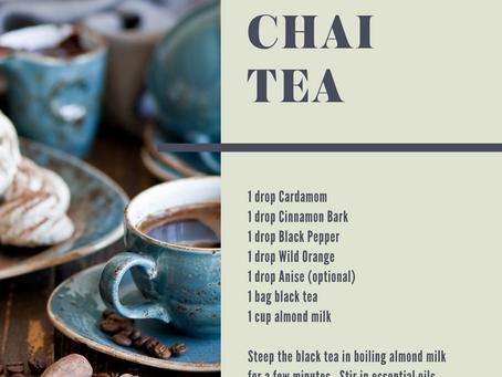 Chai Tea - the ultimate comfort drink!