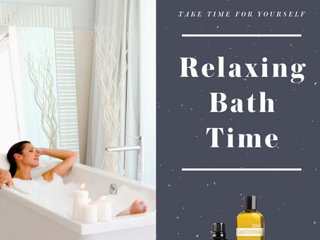 Relaxing Bath Time