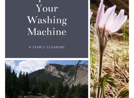 Deep Clean Your Washing Machine