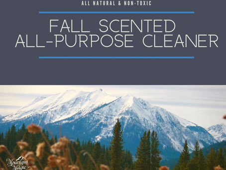 Fall Scented All-Purpose Cleaner