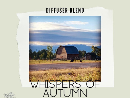 Whispers of Autumn - diffuser blend