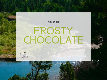 Frosty Chocolate Smoothie