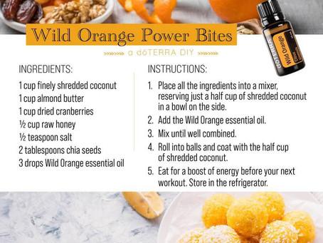 Wild Orange Power Bites